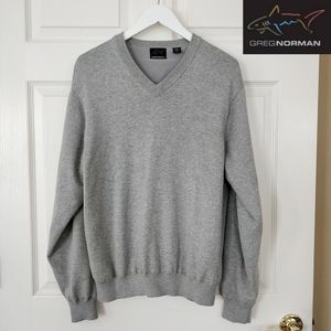 Greg Norman fully lined performance v-neck sweater